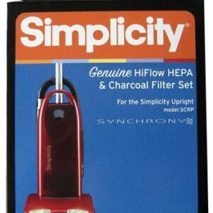 Simplicity #SF5P Synchrony Premium HEPA & Electrostatic/Charcoal Filter Set for Model SCRP