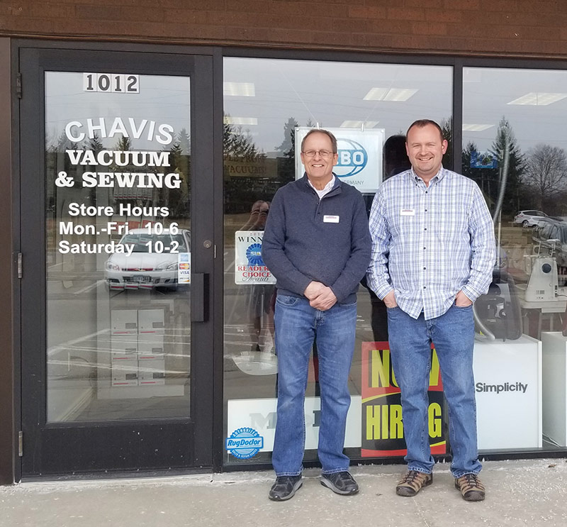 Chavis Vacuum & Sewing, Burnsville, MN