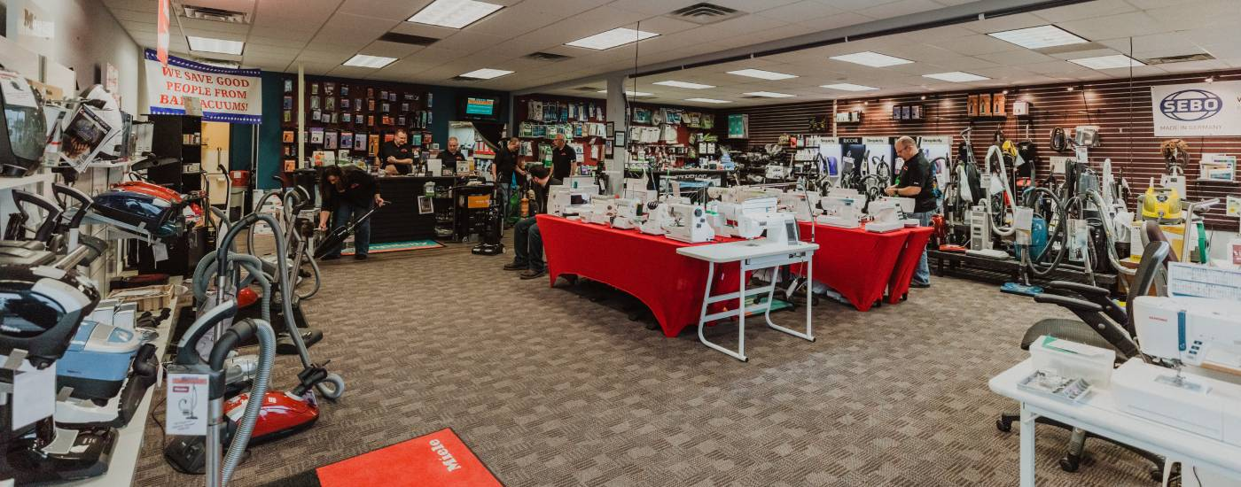Burnsville & Faribault Sewing & Vacuum Experts