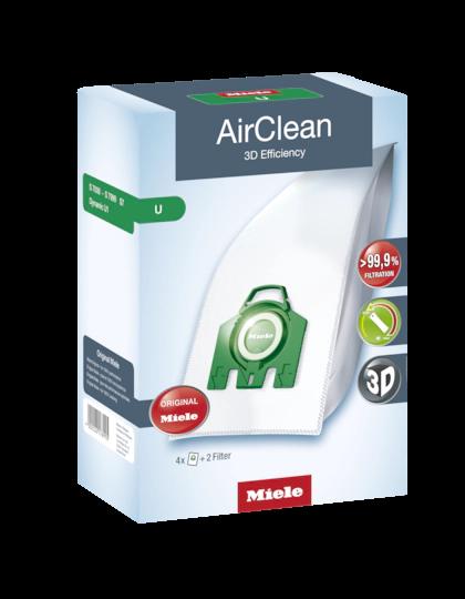 Miele Dustbag U AirClean 3D