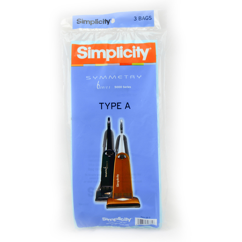 Simplicity Healthy Home Biotreated Filtration Genuine A Bags (pack of 6) S6-6