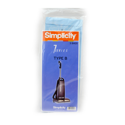 Simplicity Healthy Home Biotreated Filtration Genuine B Bags (pack of 6) S7-6