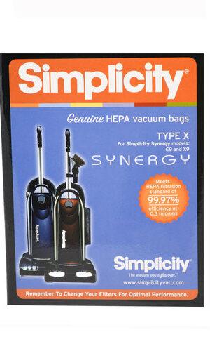 Simplicity HEPA HiFlow Filtration Genuine X9 Bags (pack of 6) SXH-6