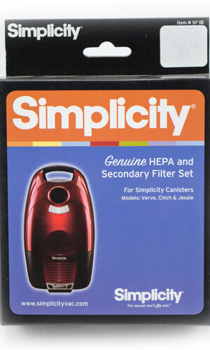 Simplicity HEPA Filter & Secondary (Bag Chamber) Filter SF-I8