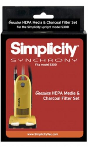 Simplicity Synchrony Deluxe S30D Vacuum HEPA Filter Set