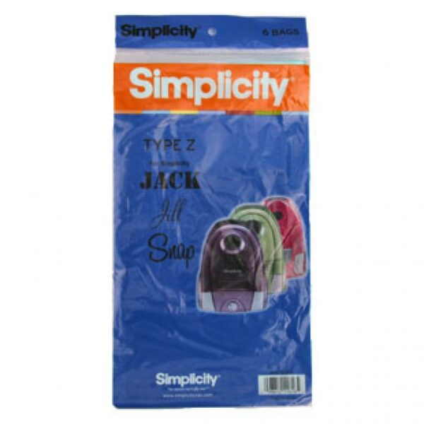 Simplicity Type Z Vacuum Bags SZP-6